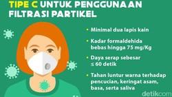 SNI mengatur masker kain untuk penggunaan umum minimal terdiri dari 2 lapis. Ada beberapa ketentuan teknis lain yang harus dipenuhi agar sesuai SNI.