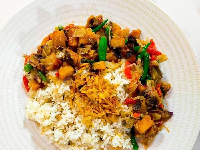 Nasi Jeruk Jambal Kecombrang