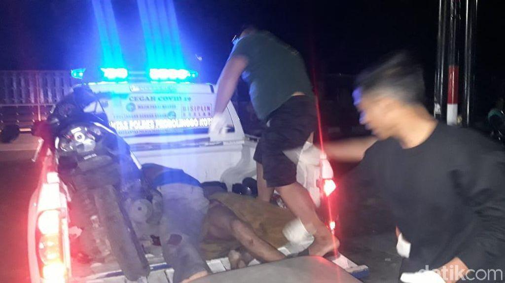 Perampok di Probolinggo Tewas Ditabrak Mobil Korbannya