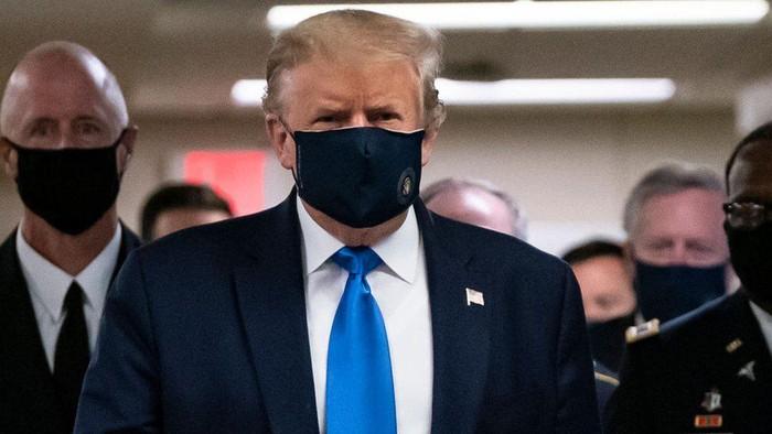 Trump: Jika Covid-19 membuat presiden AS sakit parah, apa yang akan terjadi selanjutnya?