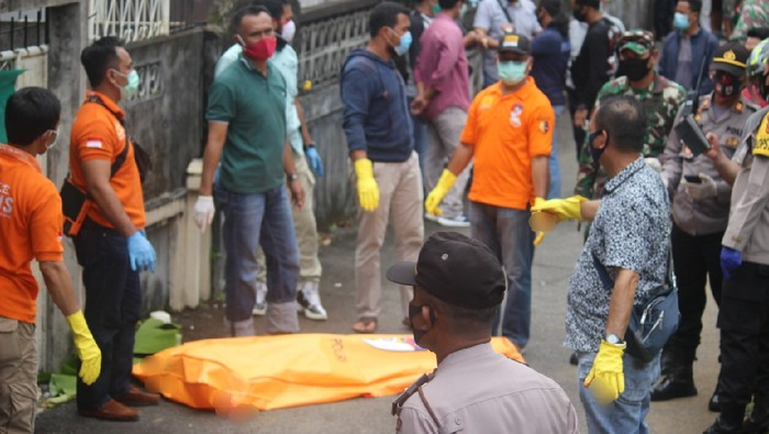 Duel maut di Gang Sawit, Pontianak, Kalbar, Minggu (4/10/2020).