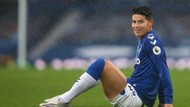 Everton Pastikan Transfer James Rodriguez dari Madrid Gratis