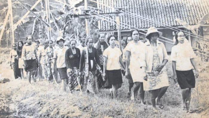 Kamp Plantungan untuk tahanan Gerwani pada tahun 1965 (Dok. Sekber65)
