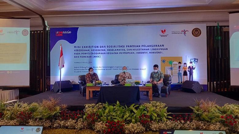 Kemenparekraf sosialisasi MICE di Jawa Timur, Sabtu (3/10/20)