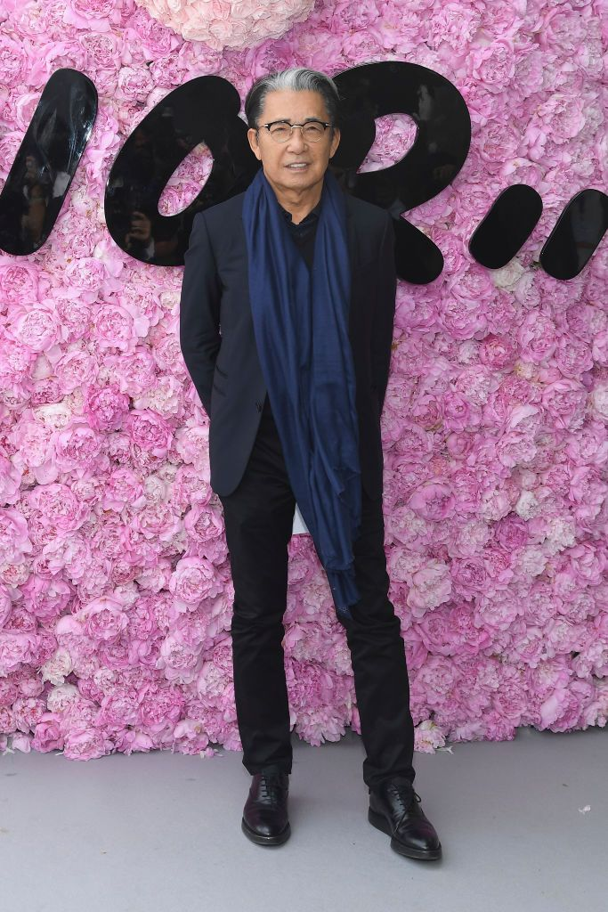 PARIS, FRANCE - JUNE 23:  Kenzo Takada attends the Dior Homme Menswear Spring/Summer 2019 show as part of Paris Fashion Week on June 23, 2018 in Paris, France.  (Photo by Pascal Le Segretain/Getty Images)
