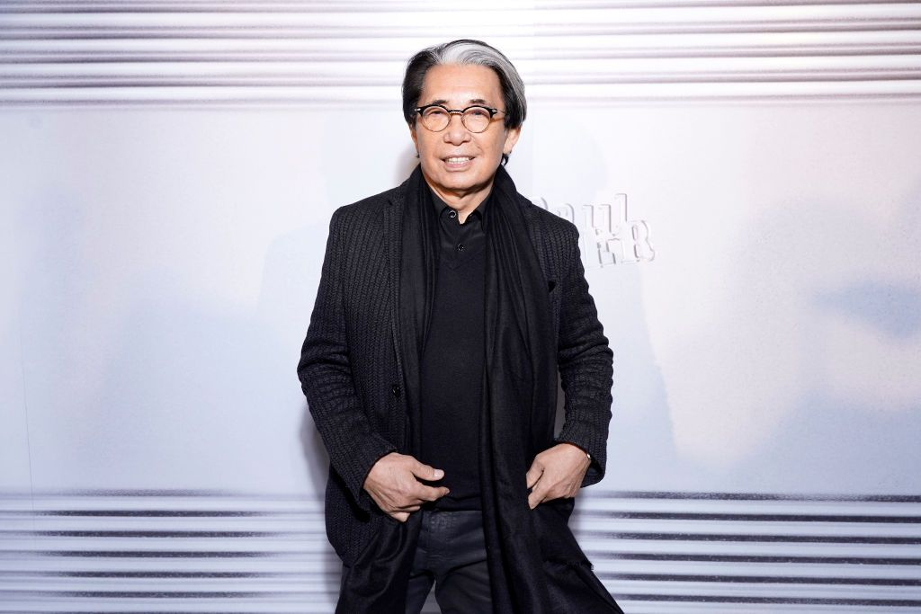 PARIS, FRANCE - JANUARY 22: Kenzo Takada attends the Jean-Paul Gaultier 50th Birthday Cocktail and Party at Theatre du Chatelet on January 22, 2020 in Paris, France. (Photo by Francois Durand/Getty Images For Jean-Paul Gaultier)