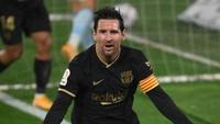 Lionel Messi di Ambang Rekor Gol Pele