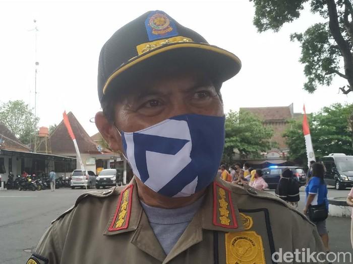 Plt Kepala Satpol PP Kota Blitar, Hadi Masikun