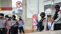 Polisi Bersenjata Laras Panjang Siaga di Operasi Yustisi