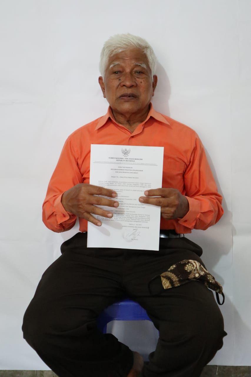 Sakono Prapto eks Tapol Pulau Buru (Dok. Sekber 65)