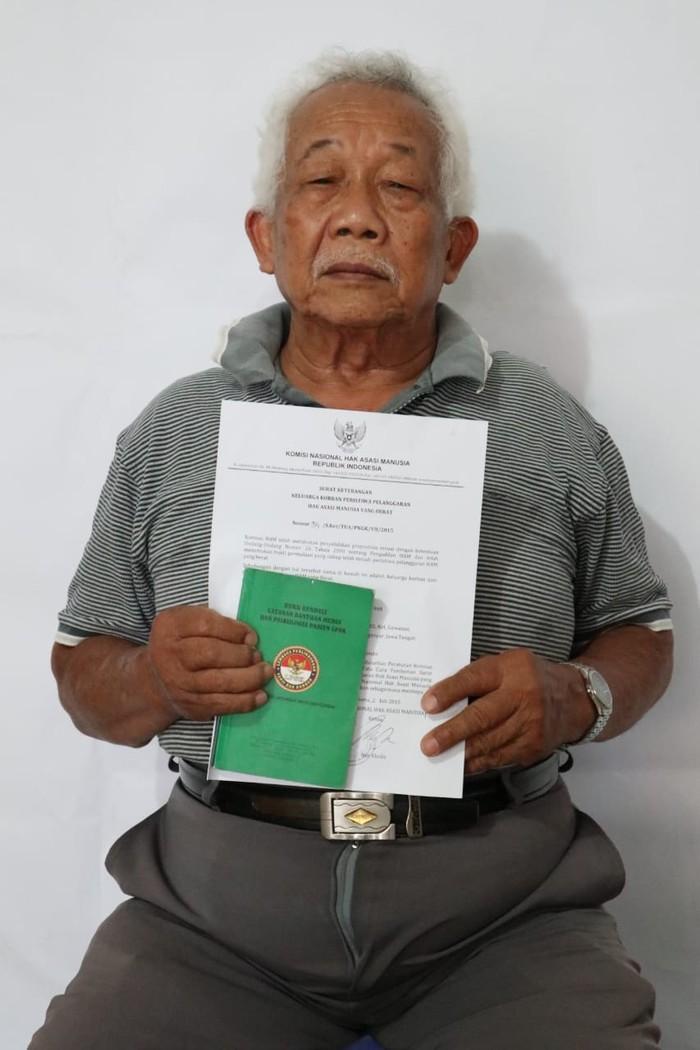Soegianto, anggota TNI AU yang dituduh sebagai PKI (Dok. Sekber 65)