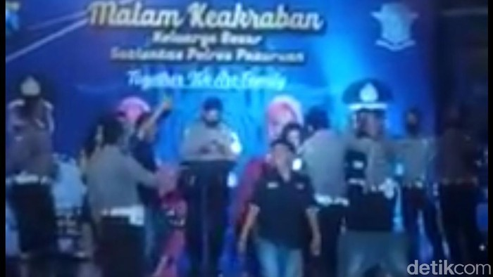 Viral Polisi Dangdutan Langgar Protokol Kesehatan, Netizen Geram