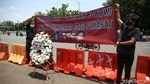 Demo di Seberang Istana Soroti Kasus Pelanggaran HAM