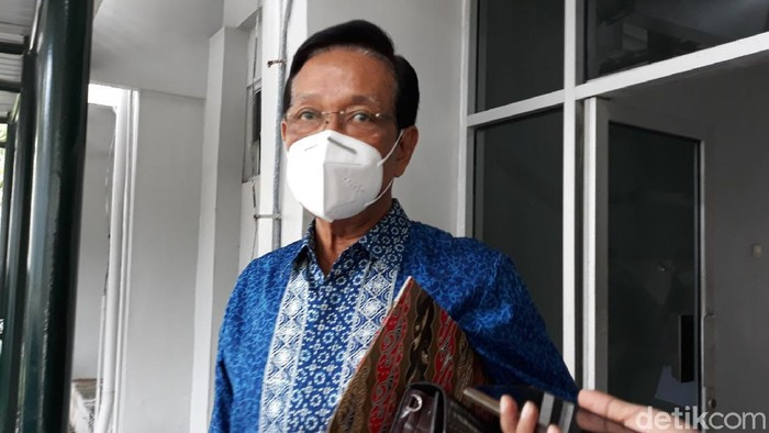 Gubernur DIY, Sri Sultan Hamengku Buwono (HB) X, Senin (5/10/2020).