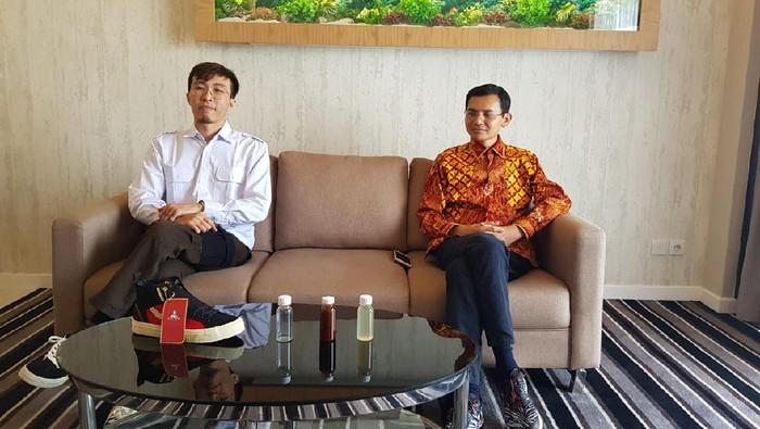 Hadi Pranoto dan dr Tirta bertemu bahas soal ramuan herbal