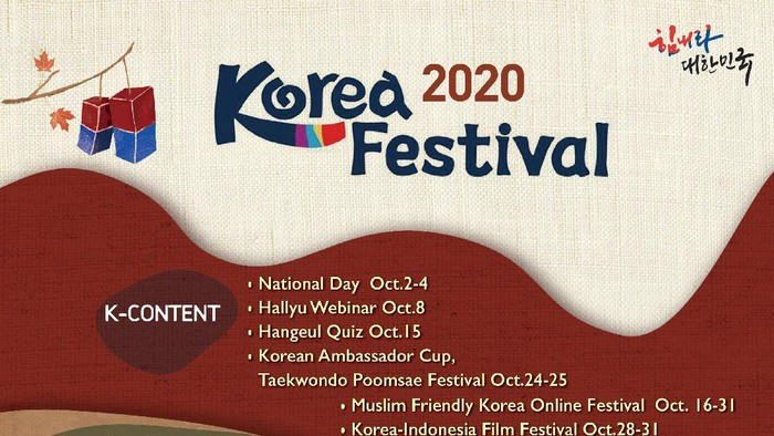 Jadwal K-Festival 2020