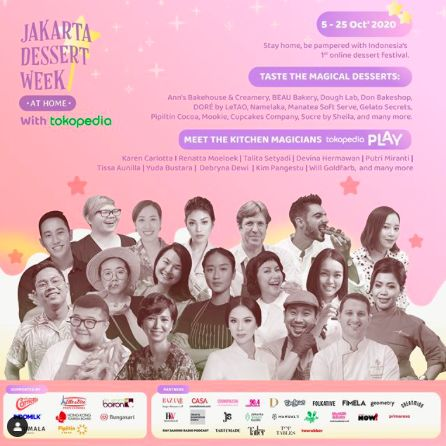 Jakarta Dessert Week Hadirkan Dessert 'Magical' dari 63 Gerai Online