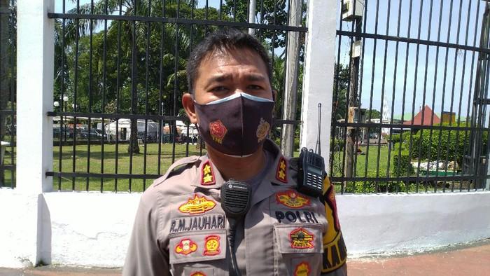Kapolsek Tanah Abang, AKBP Raden Muhammad Jauhari