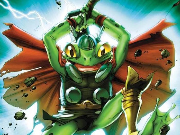 Karakter Komik Marvel Throg