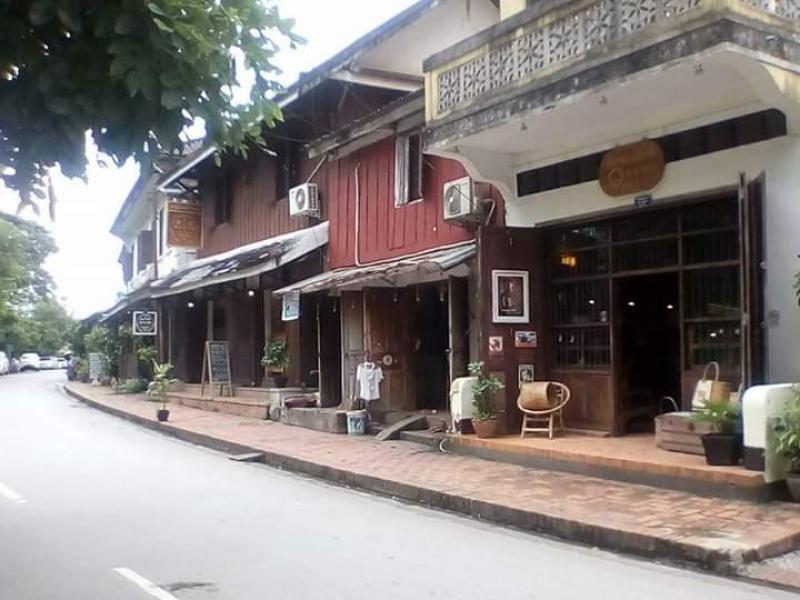 Suasana kota Luang Prabang