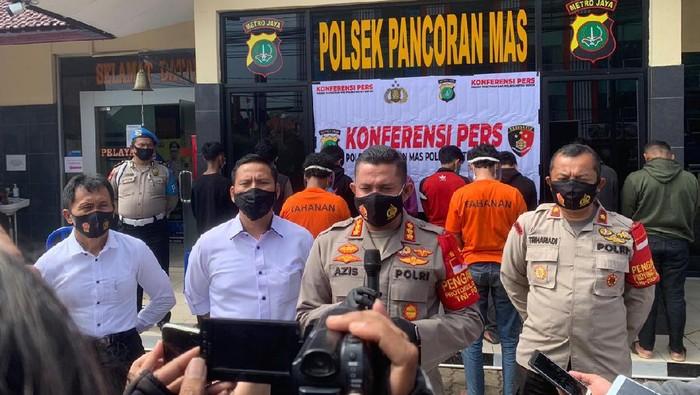 Polisi Menetapkan 2 Orang Sebagai Tersangka dalam Tawuran Antar Remaja di Depok