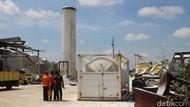 Tabung Nitrogen Perusahaan di Kalbar Meledak, 3 Sekuriti Terpental dan Luka