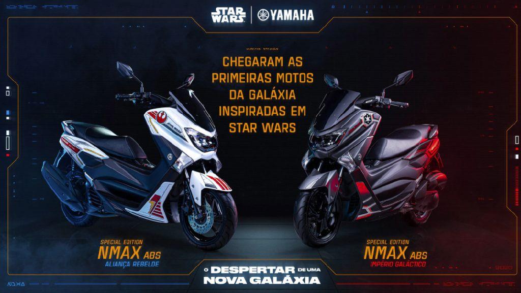 Yamaha Rilis Nmax Edisi Star Wars, Warna Hitamnya Sangar Juga
