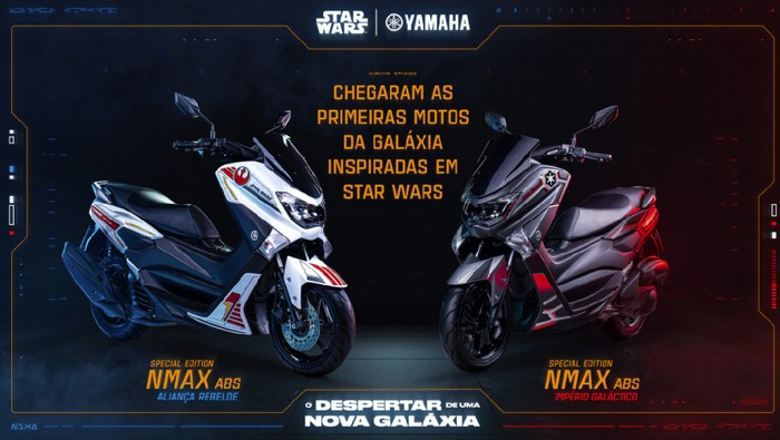 Yamaha Nmax edisi Starwars