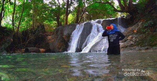 Air terjun Bente  di Morowali
