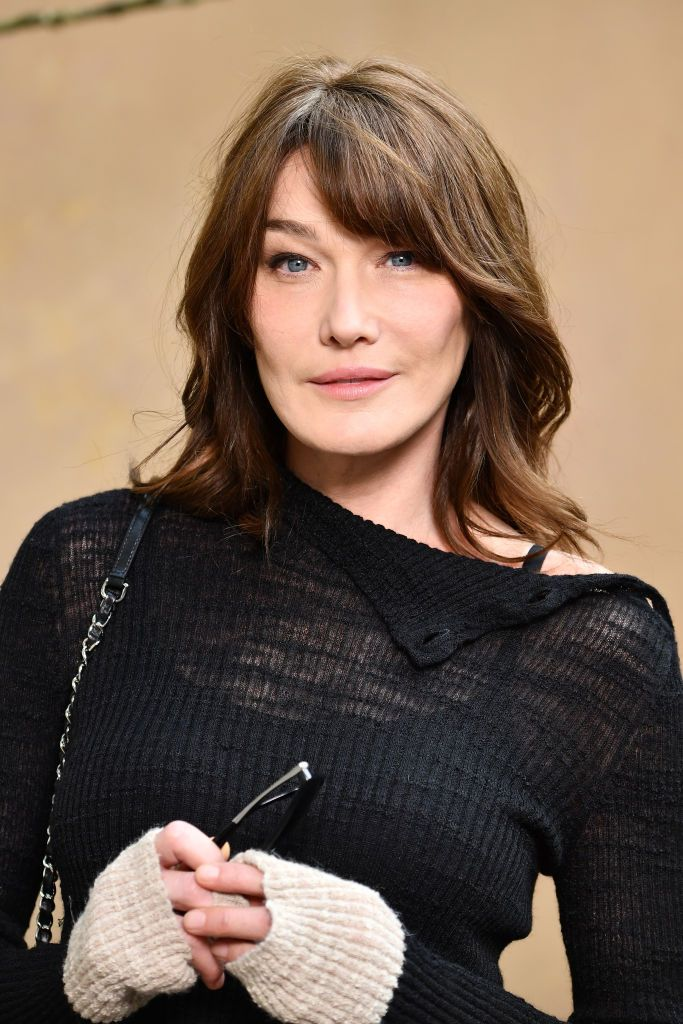 PARIS, FRANCE - MARCH 06:  Carla Bruni attends the Chanel show as part of the Paris Fashion Week Womenswear Fall/Winter 2018/2019 at Le Grand Palais on March 6, 2018 in Paris, France.  (Photo by Pascal Le Segretain/Getty Images for Chanel)