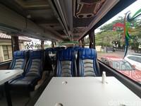 Sebenarnya Cikobis ini menggunakan bus biasa namun interiornya sudah diubah.