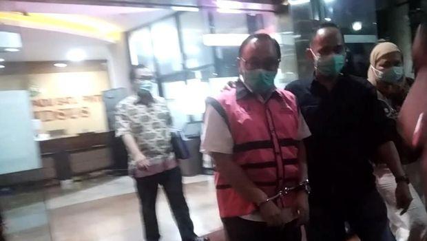 Kejaksaan Agung (Kejagung) menahan eks Direktur Utama (Dirut) BTN H Maryono dan Direktur Utama PT Pelangi Putera Mandiri Yunan Anwar