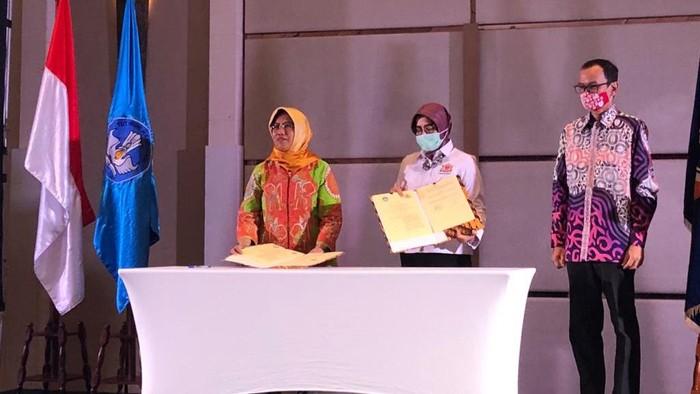 Ketua Kamar Dagang dan Industri Indonesia (Kadin) DKI Jakarta Diana Dewi