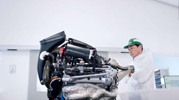 Mesin Honda RA620H, 1.600 cc, V6 hybrid untuk mobil F1.