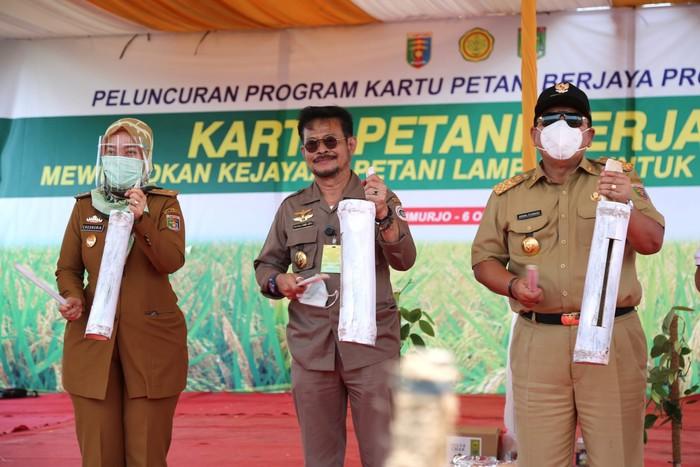 Peluncuran Kartu Petani