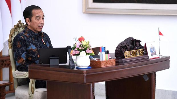 Presiden Joko Widodo dalam acara rapat terbatas korporasi petani dan nelayan,( Dok: Lukas - Biro Pers Sekretariat Presiden)
