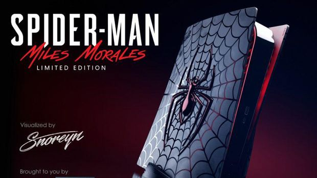 PS5 Spider-Man Miles Morales Limited Edition