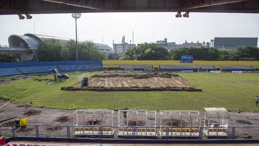 Potret Renovasi Stadion Madya Bumi Sriwijaya Jelang Piala Dunia U-20