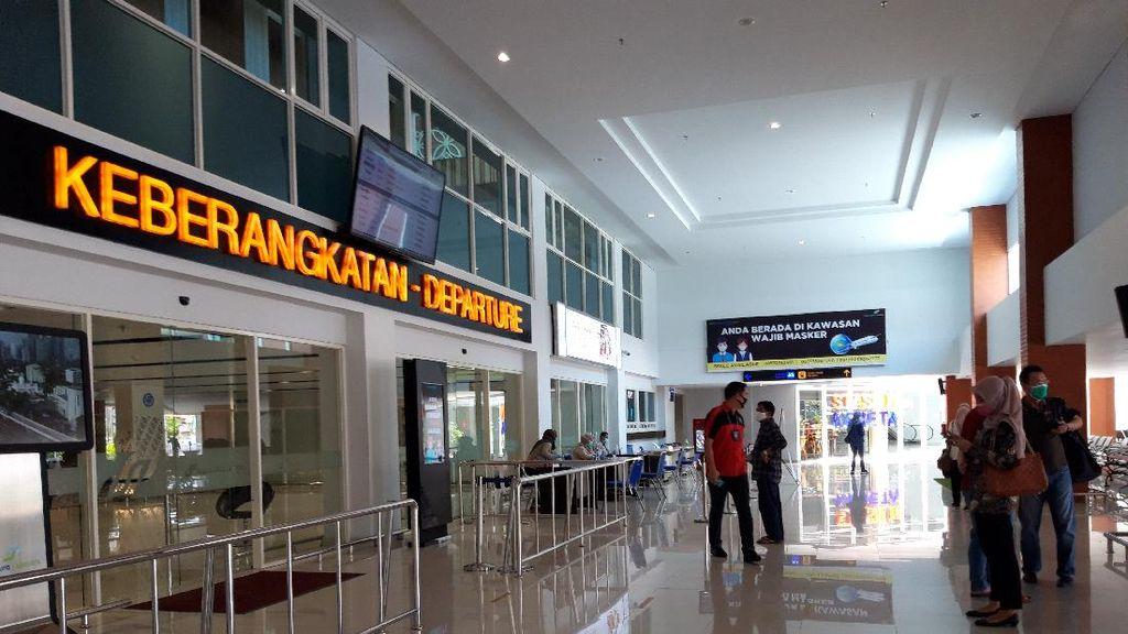 Penumpang Bandara Adi Soemarmo Turun Sekitar 4.000
