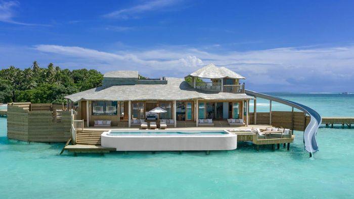 Penginapan di Maladewa.