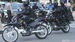 Foto: Pelajar Bentrok dengan Polisi di Palmerah