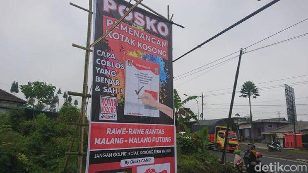 Deklarasi kotak kosong di Pilkada Wonosobo 2020, Rabu (7/10/2020).