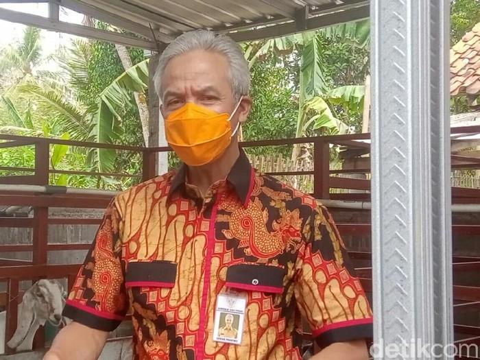 Gubernur Jawa Tengah Ganjar Pranowo di Purworejo, Rabu (7/10/2020).