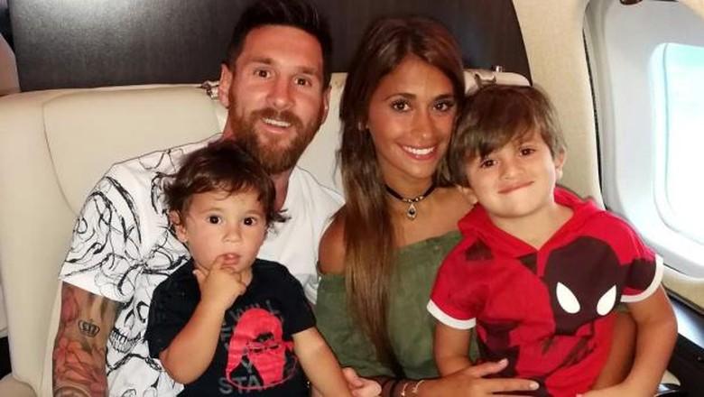 Jet Pribadi Messi