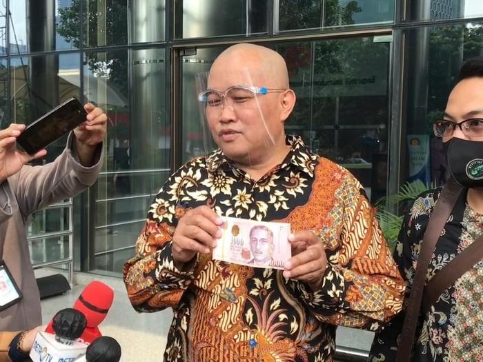 MAKI Serahkan 100 Ribu Dolar Singapura ke KPK Terkait Djoko Tjandra