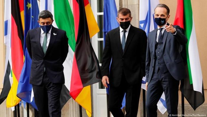 Pertama Kali, Menlu Israel dan Uni Emirat Arab Bertemu di Berlin