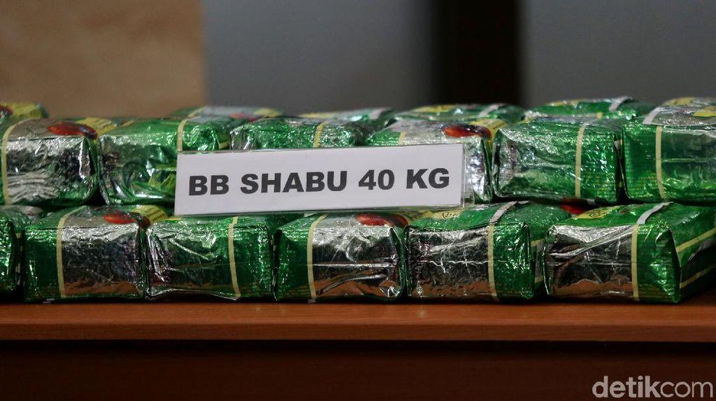 Polisi Gagalkan Pengiriman 9,2 Kg Sabu ke Kalbar Via Bandara Soetta
