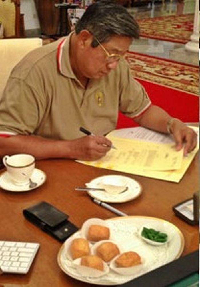 Momen kuliner SBY