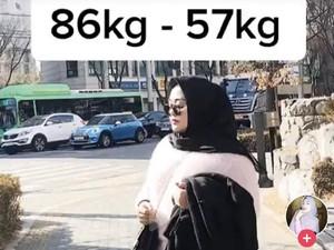 Wanita Ini Viral karena Bikin Pangling Setelah Turun 29 Kg, Apa Cara Dietnya?