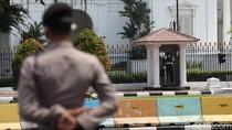 Antisipasi Aksi Buruh, Kawasan Istana di Jaga Ketat